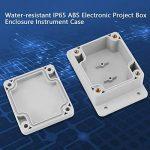 Akozon Boîte de jonction, boîtier électrique d'instrument de clôture de boîte de projet d'ABS IP65 résistant à l'eau(200 * 120 * 75mm) de la marque Akozon image 4 produit