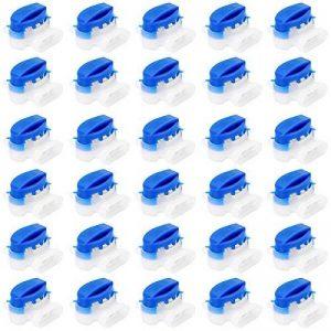 Akunsz 30 pièces Connecteur de câble remplis de gel résine, connecteur étanche, colliers de connexion pour Jardin & Extérieur la tondeuse à gazon robotique de la marque Akunsz image 0 produit