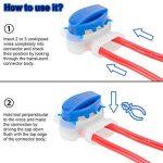 Akunsz 30 pièces Connecteur de câble remplis de gel résine, connecteur étanche, colliers de connexion pour Jardin & Extérieur la tondeuse à gazon robotique de la marque Akunsz image 4 produit