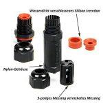 ASEL Lot de 4 Connecteurs des câbles Boîtes de jonction Boîtes de connexion câble 1-11 mm (noire, 2 pôles, IP68, PVC) de la marque ASEL image 3 produit