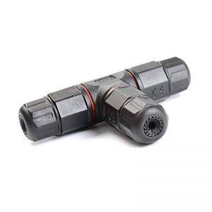ATPWONZ Boîte de jonction IP68 Connecteur de câble étanche à l'extérieur Connecteur de gaine externe Ø 5mm-10mm (3 pôles noirs) de la marque ATPWONZ image 0 produit