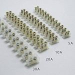 Blocs de jonction électriques clairs 5A 10A 20A 30A Double rangée de connecteurs de fil de connecteur de position 12 Paquets de 12 de la marque AGGER image 4 produit