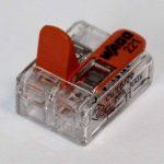 Bornes WAGO 221Lot de 16x 221–412, WAGO 221–413, 221–415| connecteur de câbles dans la boîte wiederverschließbaren–Original de la marque Genisys image 1 produit