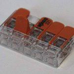 Bornes WAGO 221Lot de 16x 221–412, WAGO 221–413, 221–415| connecteur de câbles dans la boîte wiederverschließbaren–Original de la marque Genisys image 3 produit