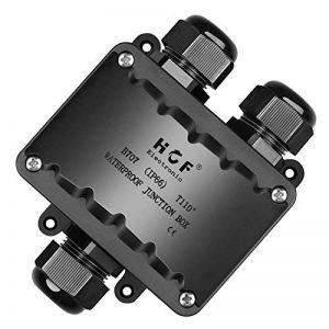 Boîte de jonction, Beauty Star IP66 Connecteur Étanche 3 Voies Connecteurs Boîtier Électrique Extérieur, M20 goupilles pour câble Ø 9 Mm-14 mm (ABS + PVC) de la marque beautystar image 0 produit
