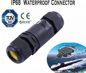 Connecteur de fil de câble électrique étanche IP68 de 16A et 450V, 2/3/4 pôles, 5 à 9mm, Jusqu'à 4m de profondeur d'eau de la marque Greenway image 0 produit