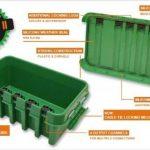 Dri-Box FL-1859-285-IIG IP55 Intempéries Box Moyen, Vert de la marque Dri-Box image 2 produit