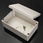 elegiant 16Taille étanche IP65ABS Boîte électronique Boîtier en plastique Boîte de raccordement de la marque ELEGIANT image 2 produit