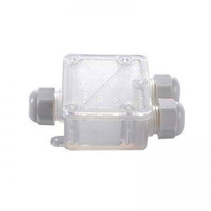 Eshall Boîte de Jonction IP68 Étanche Connecteur de Câble Ø 5mm-15mm Boîtes de Connexion pour Éclairage Électrique Extérieur (3 Voies) de la marque Eshall image 0 produit