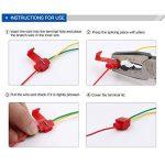 FEIGO Kit Cosse Electrique, Connecteur Rapide Isolé Assortiment Multicolore pour Fils et Câbles 0.5~6mm² - 85 Pièces de la marque FEIGO image 4 produit