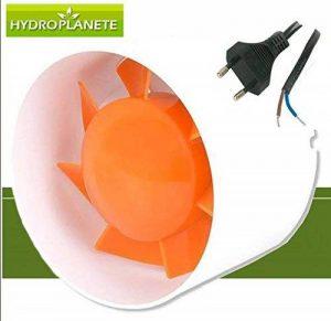 HYDROPLANETE - Extracteur/Intracteur d'air 100mm 125mm 150mm pour Conduits de Ventilation, AVEC Cable et prise electrique (150mm (305m3/H)) de la marque HYDROPLANETE image 0 produit