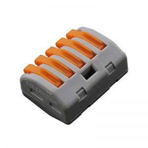 KKmoon Connecteurs de Câblage Compact de Jonction Universelle de Connecteur de fil Rapide PCT-213 Beaucoup de Modèles pour Choisir la boîte de câble électrique de choix de 20pcs 2/3/5 de la marque KKmoon image 0 produit