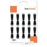 kwmobile 10x connecteur DC 10x prise DC - Set 10x adaptateur de câble alimentation - Raccord 12 V - 2 x 10 pièces - 5,5 x 2,1 mm de la marque kwmobile image 3 produit