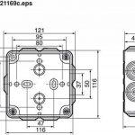 Legrand LEG92022 Boîte carrée 105 x 105 x 55 étanche plexo Gris de la marque Legrand image 2 produit