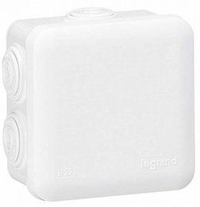 Legrand LEG94518 Boîte de dérivation carrée 80 x 80 x 45 mm fermeture par enclipsage Blanc de la marque Legrand image 0 produit