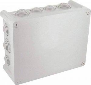 Legrand LEG94526 Boîte de dérivation rectangulaire fermeture 1/4 de tour 220 x 170 x 86 mm Gris de la marque Legrand image 0 produit