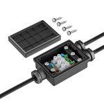 Parlat Câble-connecteur double pour l'extérieur, Muffe pour 6-8mm câble IP68 de la marque Parlat image 1 produit
