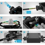 Parlat Câble-connecteur double pour l'extérieur, Muffe pour 6-8mm câble IP68 de la marque Parlat image 3 produit