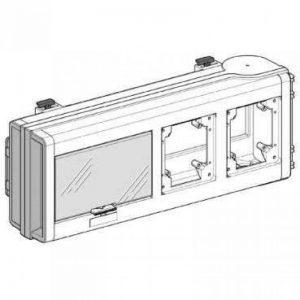 Schneider Electric KNB32CP Canalis KN Coffret de Dérivation, Vide pour 2 Prises pour KNB, 3L + N + PE, 32 A, 230-500V, 50/60 Hz, Blanc de la marque Schneider Electric image 0 produit