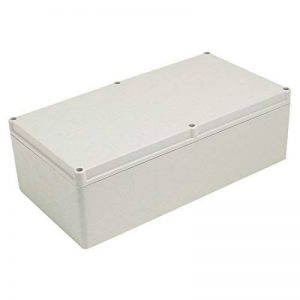 sourcingmap® 325mm x 170mm x 103mm Housse en ABS Boîte jonction électrique Boîtier Boîtier de la marque Sourcingmap image 0 produit