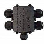Sucre auxiliaire® 24A 450V 5Way IP68connecteur de fil de câble électrique étanche Boîte de jonction de la marque Sucre Auxiliary image 4 produit