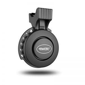 TWOOC Vélo électrique Hupe eletek USB Rechargeable Vélo Sonnerie 120dB étanche et staubgeschützt Poignée pour boîtes de 22–31,8mm de la marque TWOOC image 0 produit