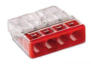 WAGO 2273–204/996–020 Boîtes de connexion Compact Pince, transparent (Lot de 20) de la marque Wago image 0 produit