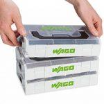 Wago–887–950Bornes de connexion automatique Set, lumière gris de la marque Wago image 1 produit