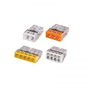 Wago - Flacon de 100 mini bornes de connexion automatique 2, 3, 5 et 8 fils S2273 de la marque Wago image 0 produit