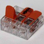 wagok Pinces Set 14x 221–412, 5x Wago 221–413, 3x 221–415–Câble connecteur dans la boîte wiederverschließbaren–Original de la marque Genisys image 2 produit